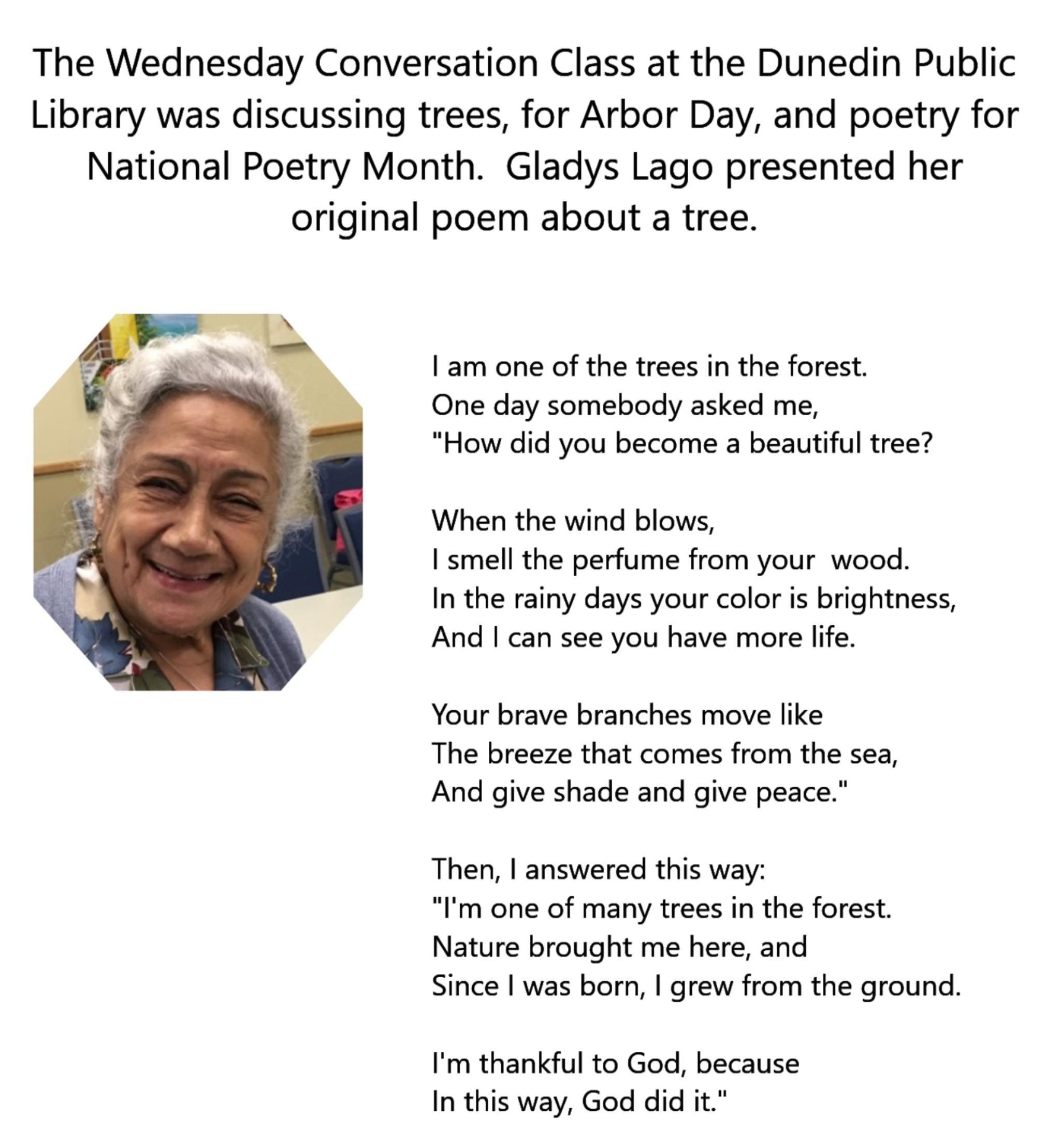 gladys poem
