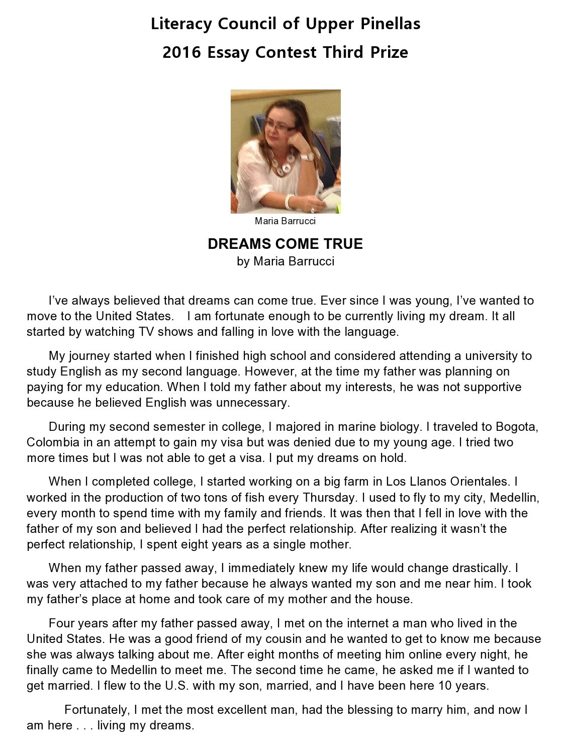 parents day speech essay Parents' day speech is a special way to show that you honor your parents there cannot be a better way to show your love and respect to your parents, than through words words are the strongest and dense communicator they are the tools with which you carve a niche in the heart of your parents on.