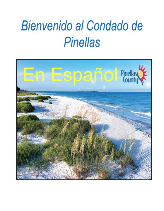 Guía del Condado de Pinellas en español